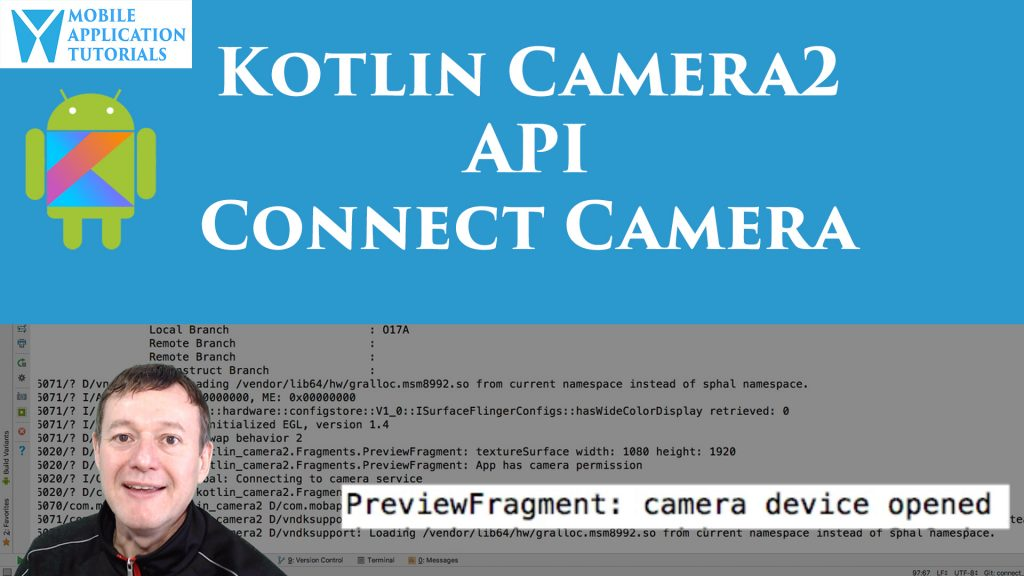 kotlin android camera2 api connect open device