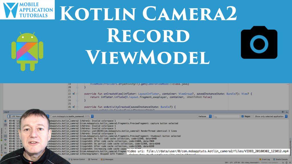 Kotlin Camera2 API ViewModel