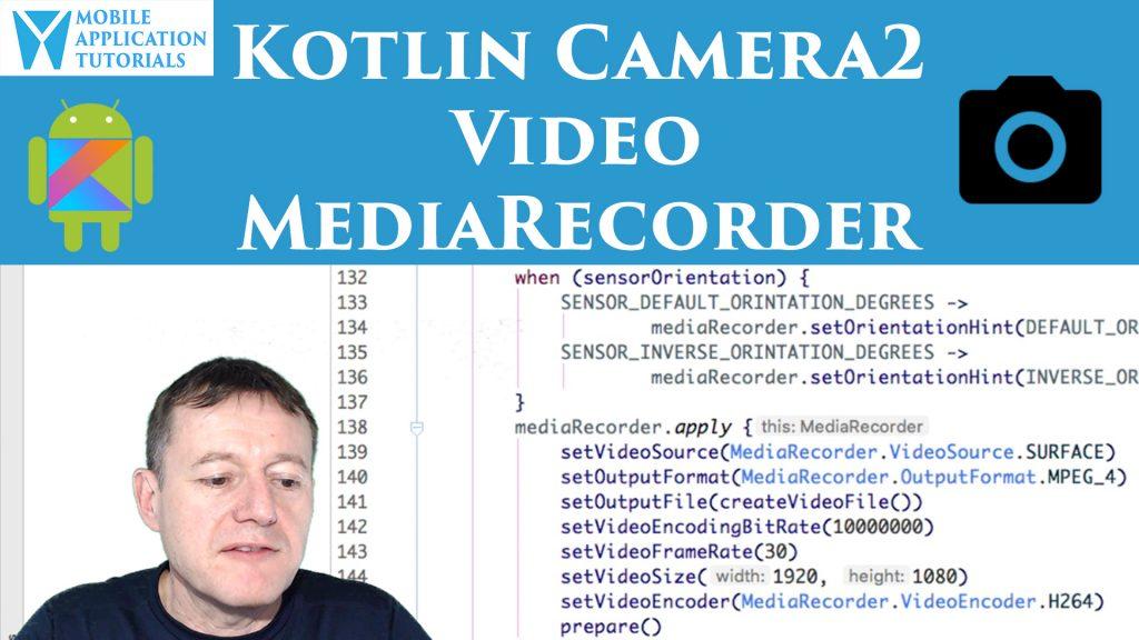 Kotlin MediaRecorder