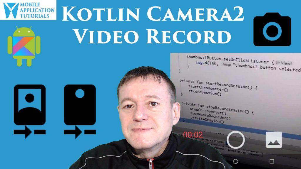 Kotlin camera2 API video