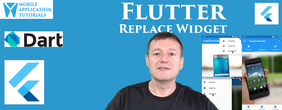 Flutter widget replace techniques