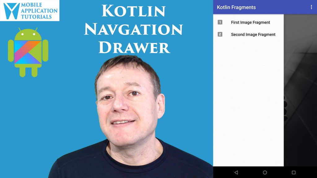 Kotlin Android Navigation Drawer
