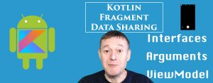 kotlin android fragments data sharing