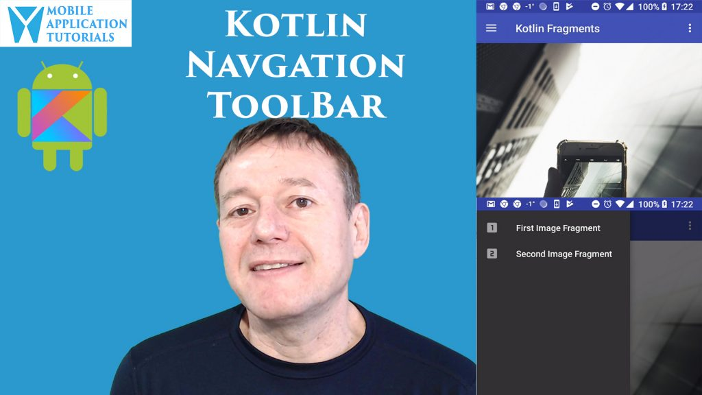 Kotlin Android Navigation ToolBar