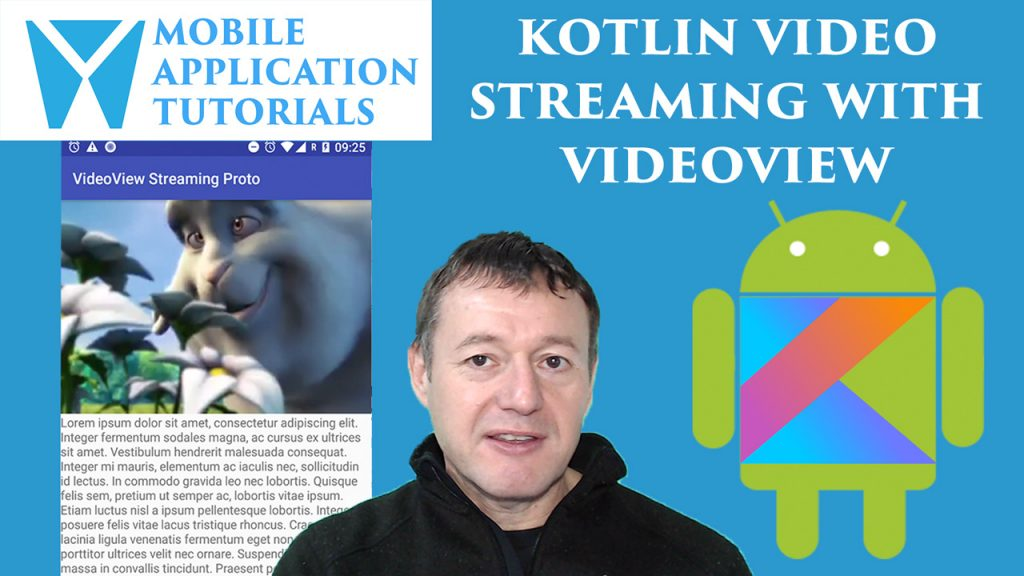Kotlin VideoView Video Streaming