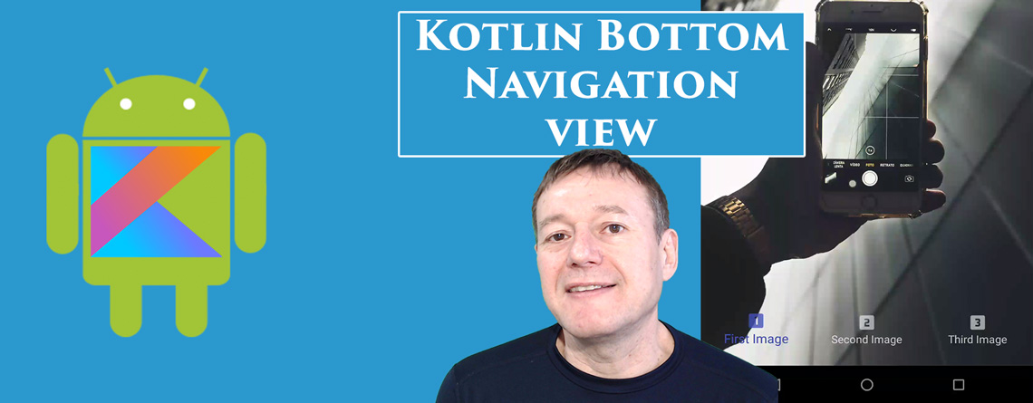 Kotlin Bottom Navigation View
