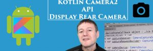 Kotlin Camera2 API Rear Display Preview