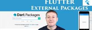 Flutter adding external packages