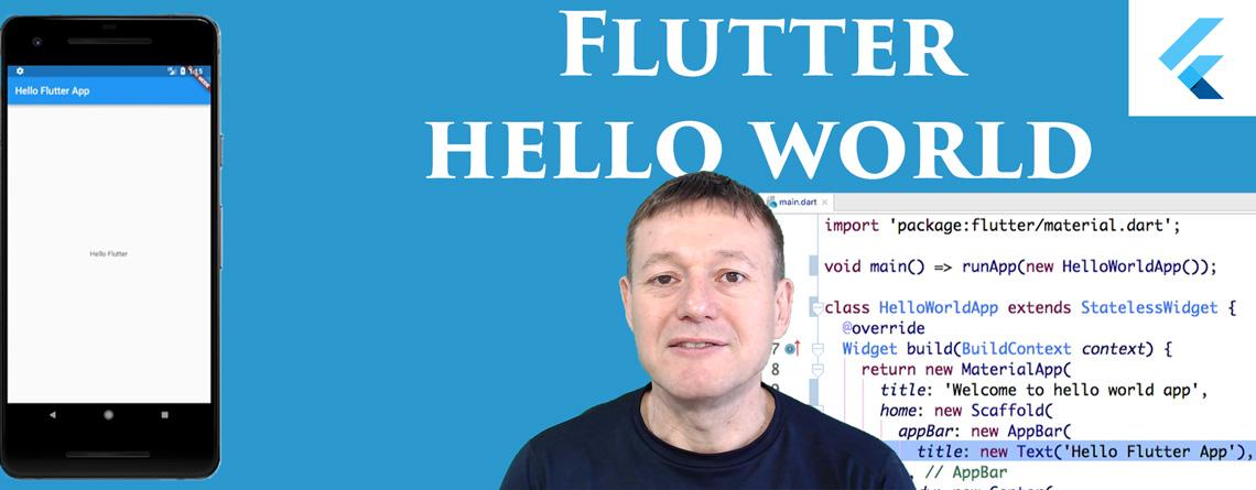 Flutter Hello World App