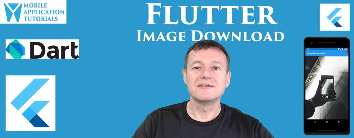 Flutter image download and display