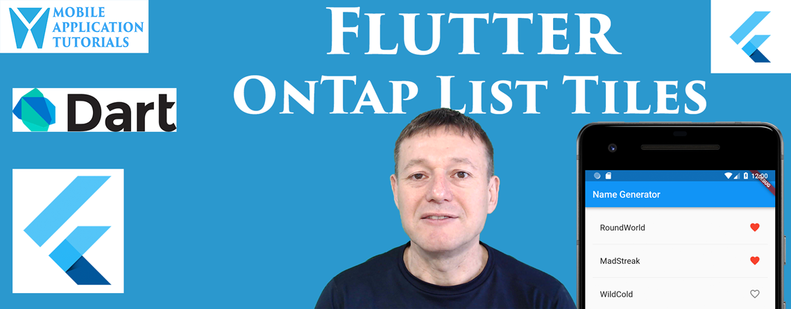 Flutter onTap interactive support