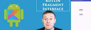 Kotlin sharing data using fragment interface