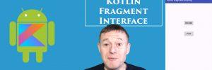 Kotlin sharing data using fragment interface