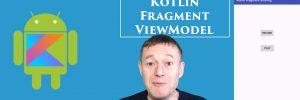 Kotlin sharing data between fragments using ViewModel