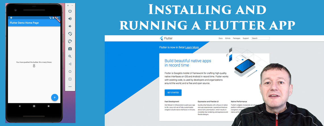 Installing and running flutter - Mobile App Tutorials